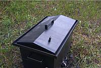 Коптильня с гидрозатвором + термометр | 520х310х280 | 2мм