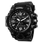 Тактические мужские часы Skmei  1155 HAMLET Black, фото 2