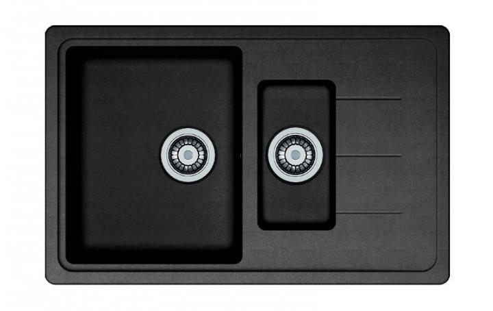 Кухонная мойка AquaLine Venezia 78-50 ONX Черный