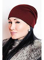 Набор трикотажных шапочек, любые 3 цвета на выбор, размер универсальный., фото 1