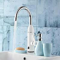 220V Электрический Нагреватель Faucet Ванная комната Кухня Отопление Душ Горячая холодная вода Mixer Tap 1TopShop