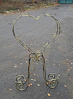 Сердце-7, подставка для цветов на 12 чаш, фото 1