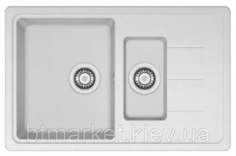 Кухонная мойка AquaLine Venezia 78-50 WH Белый