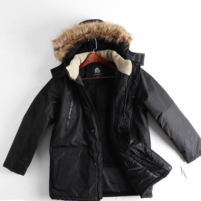 Мужская зимняя куртка до -30С