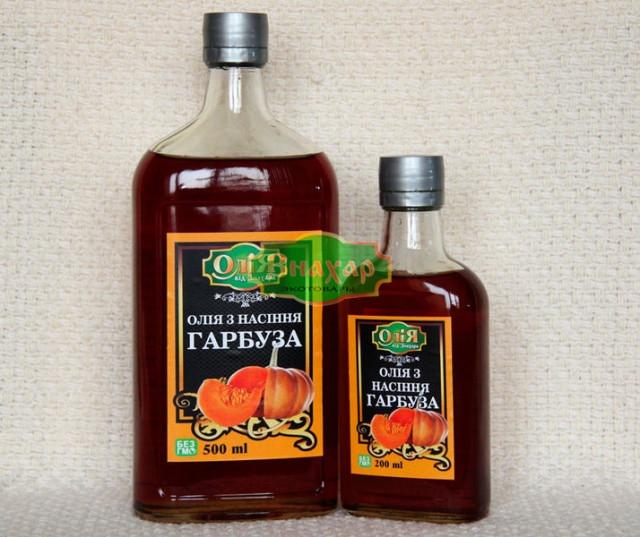 Олія з насіння гарбуза 0,5 Знахар