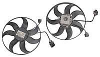 Вентилятор основного радиатора 2.0SDI большой 7 лопастей VOLKSWAGEN CADDY 2004-2010