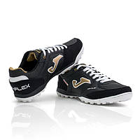 Сороконожки Joma Top Flex 801 Turf 2018 black/gold