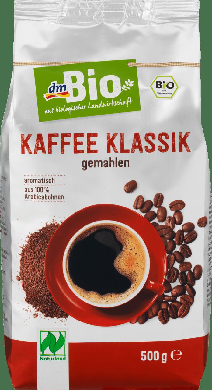 Органический жареный кофе dm Bio Kaffee Klassik, 500 гр.
