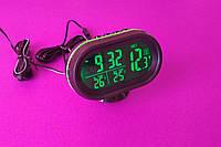 Автомобильные часы,вольтметр,термометр VST-7009V