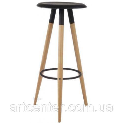 Стул черный барный, стул визажный, табурет (ОТИЛИО)