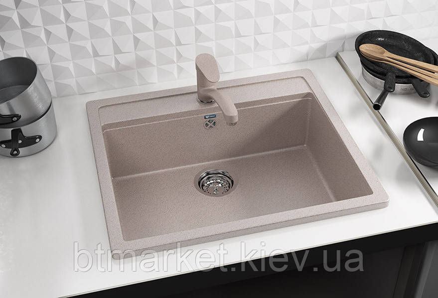 Кухонная мойка AquaLine Enna 56-50 BG Беж