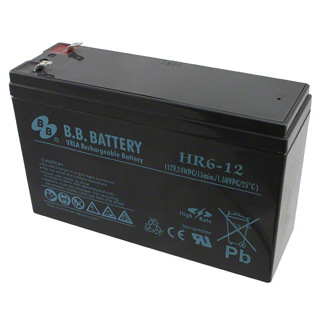 Акумулятор Bb battery HR6-12/T1