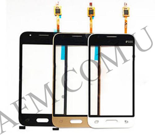 Сенсор (Touch screen) Samsung J105H Galaxy J1 Mini (2016)/  J106F чёрный