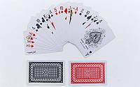 Игральные карты пластиковые, колода в 54шт., толщина 0,25мм. (IG-4564)