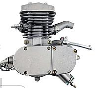 Веломотор 80куб / дырчик без стартера без комплекта серого цвета