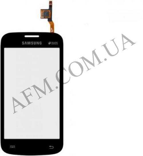 Сенсор (Touch screen) Samsung S7260/  S7262 чёрный