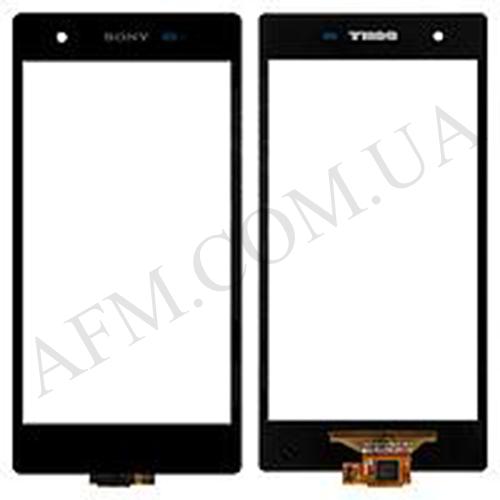 Сенсор (Touch screen) Sony C6916 Xperia Z1s чёрный оригинал