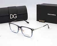 Женская пластиковая оправа в стиле Dolce&Gabbana 9032 синяя, фото 1