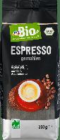 Органический жареный кофе dm Bio Kaffee Espresso, 250 гр.