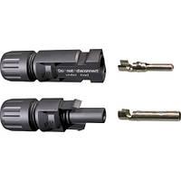 Коннектор MC4 (диаметр кабеля 3-6 мм)