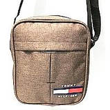 Спортивные барсетки из текстиля Tommy Hilfiger (серый)20*24см, фото 3