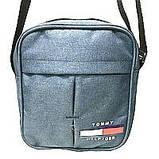 Спортивные барсетки из текстиля Tommy Hilfiger (серый)20*24см, фото 2