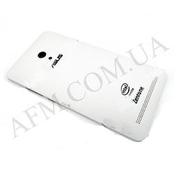 Задняя крышка Asus Zenfone 6 (A600CG) белая