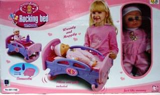 Ліжечко з лялькою My Bed Rocking