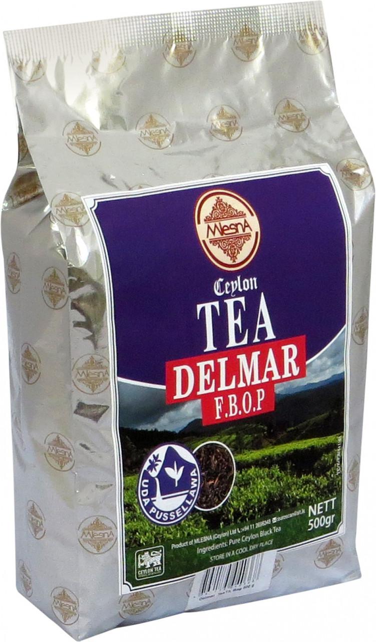 Черный чай Делмар F.B.O.P., DELMAR F.B.O.P., Млесна (Mlesna) 500г.