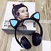 Bluetooth Наушники с светящимися КОШАЧЬИМИ УШКАМИ ZW-19  7 цветов в 1 - Фото