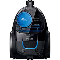 Пылесос без мешка Philips FC9350 Черно-синий