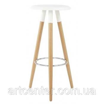 Стул белый барный, стул визажный, табурет (ОТИЛИО)