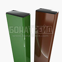 Металлические столбы для штакетного забора. 3000