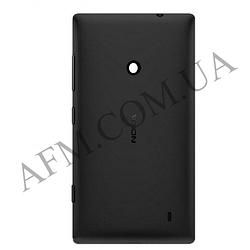 Задняя крышка Nokia 520 Lumia черная оригинал