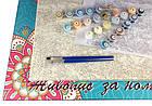 Рисование по номерам Кот и бабочка ArtStory AS0413 40 х 50 см, фото 3