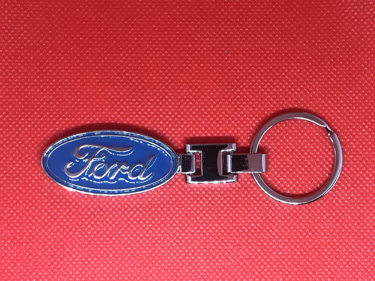 Брелок металлический для авто ключей Ford Форд