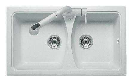 Кухонная мойка AquaLine Melfi 79-50 WH Белый