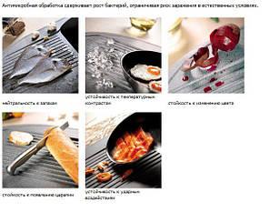 Кухонная мойка AquaLine Melfi 79-50 WH Белый, фото 2
