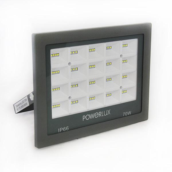 Прожектор світлодіодний POWERLUX 09995 GR 70W 6500K IP66