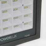 Прожектор світлодіодний POWERLUX 09995 GR 70W 6500K IP66, фото 4