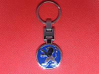 Брелок металлический для авто ключей Peugeot Пежо