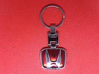 Брелок металлический для авто ключей Honda Хонда