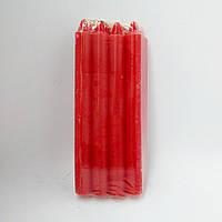 Свеча декоративная красная 19,5*2 см