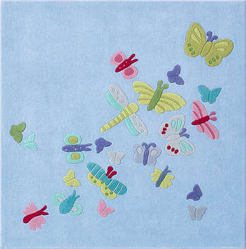 "Ковер HABA ""Летние бабочки"""