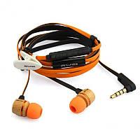 Наушники гарнитура вакуумные Awei ES16Hi Orange