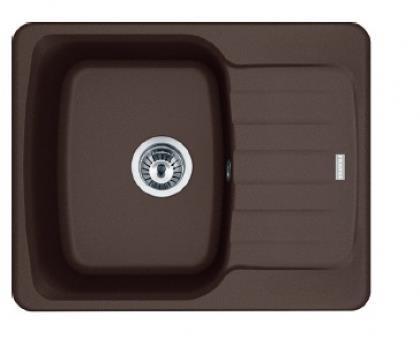 Кухонні мийки Franke Antea AZG 611-62/114.0499.153/ прямоуг.з  крилом/фраграніт/620x500х210/шоколад