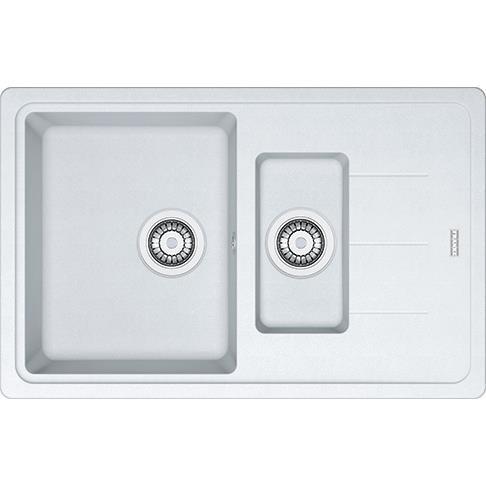 Кухонні мийки Franke BASIS BFG 651-78 Фраграніт/780х500х200/Словакия/Білий