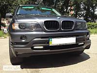 Накладка переднего бампера BMW X-5 E53 (1999-2003)