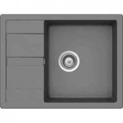 Кухонная мойка AquaLine Siena 65-50 GR Серый, фото 2