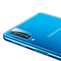 Защитное стекло на камеру для Samsung Galaxy A9 (2018)